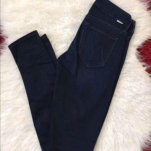 Mother body electric skinny jeans 24 the looker